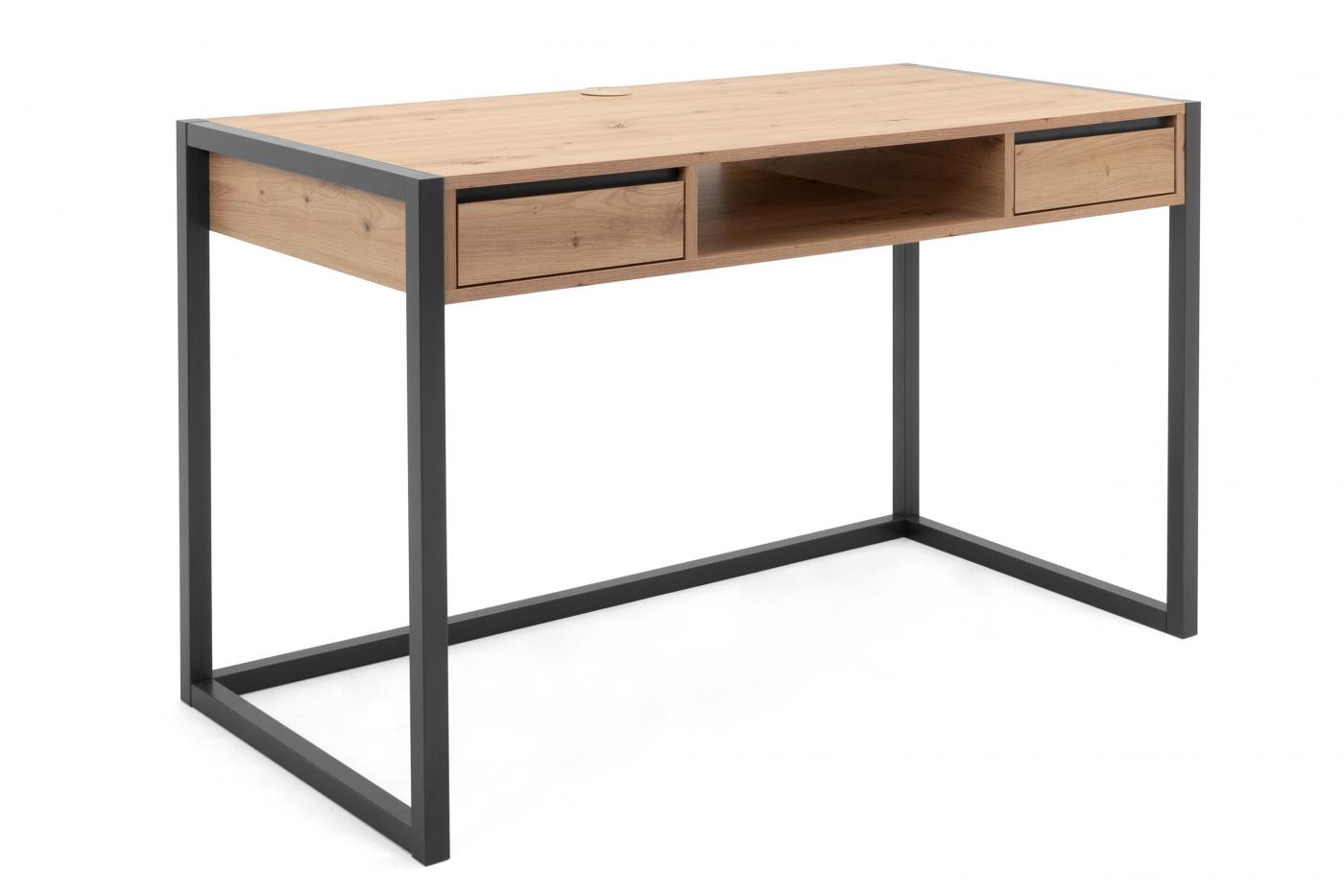 Pracovní stůl Aran, 120 cm, dub