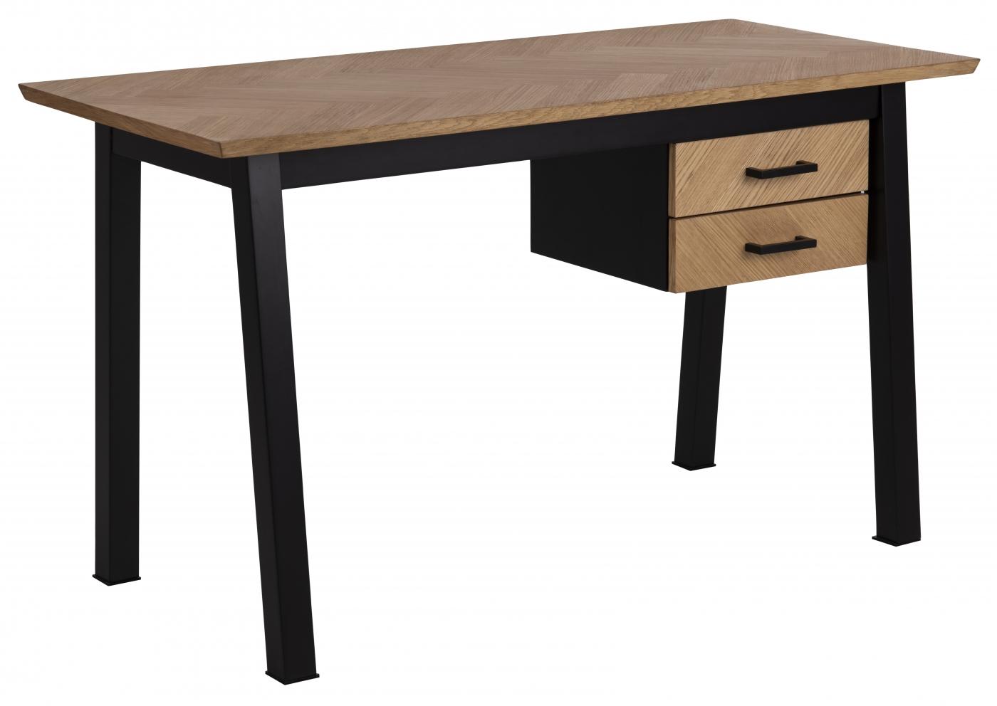 Pracovní stůl Brighton, 130 cm, MDF, dub