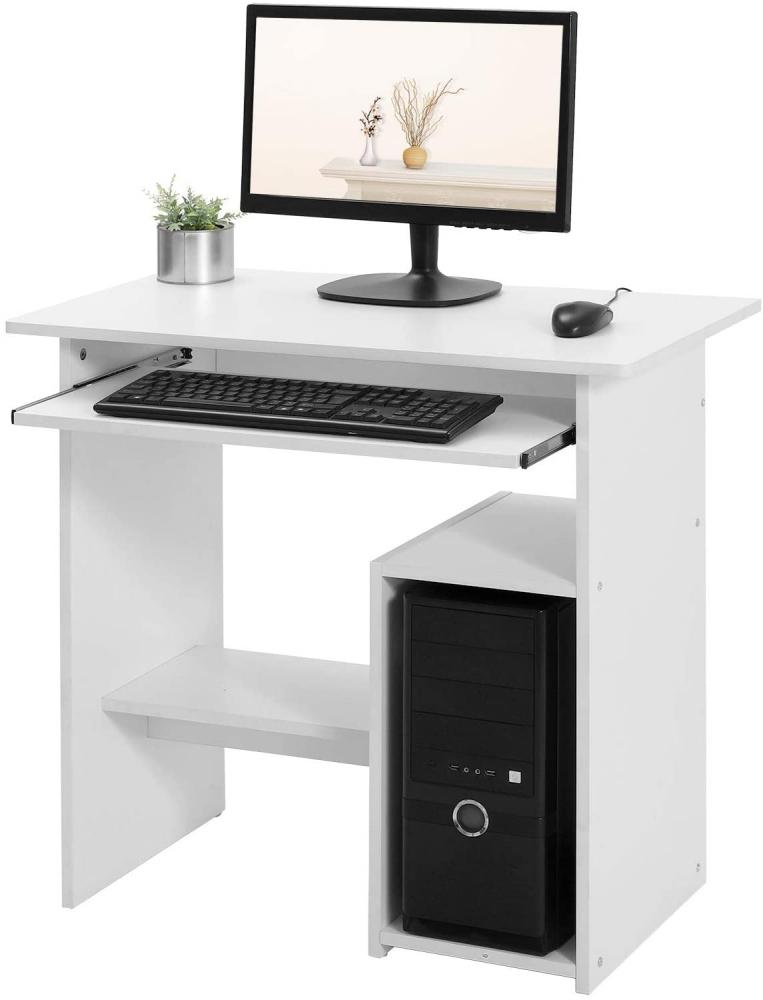 Pracovní stůl Elena, 120 cm, bílá