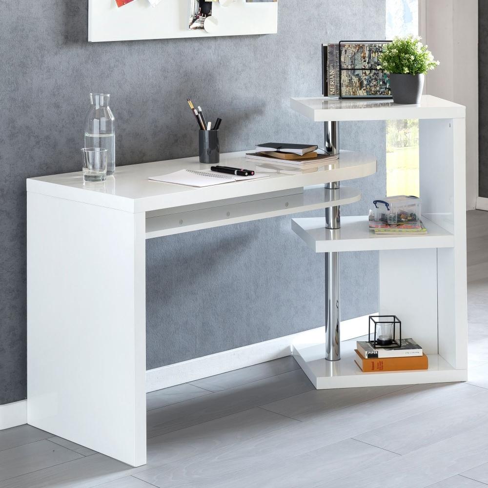 Pracovní stůl Erne, 145 cm, bílá
