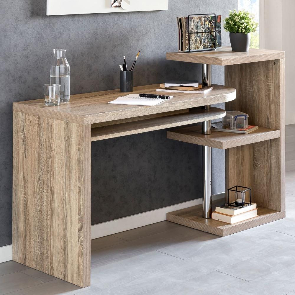 Pracovní stůl Erne, 145 cm, dub