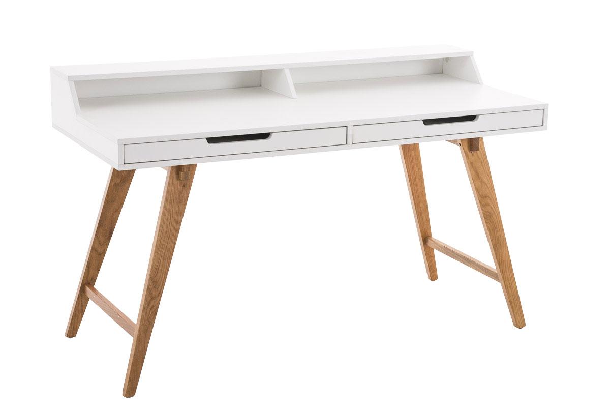 Pracovní stůl Erni, 110 cm, bílá