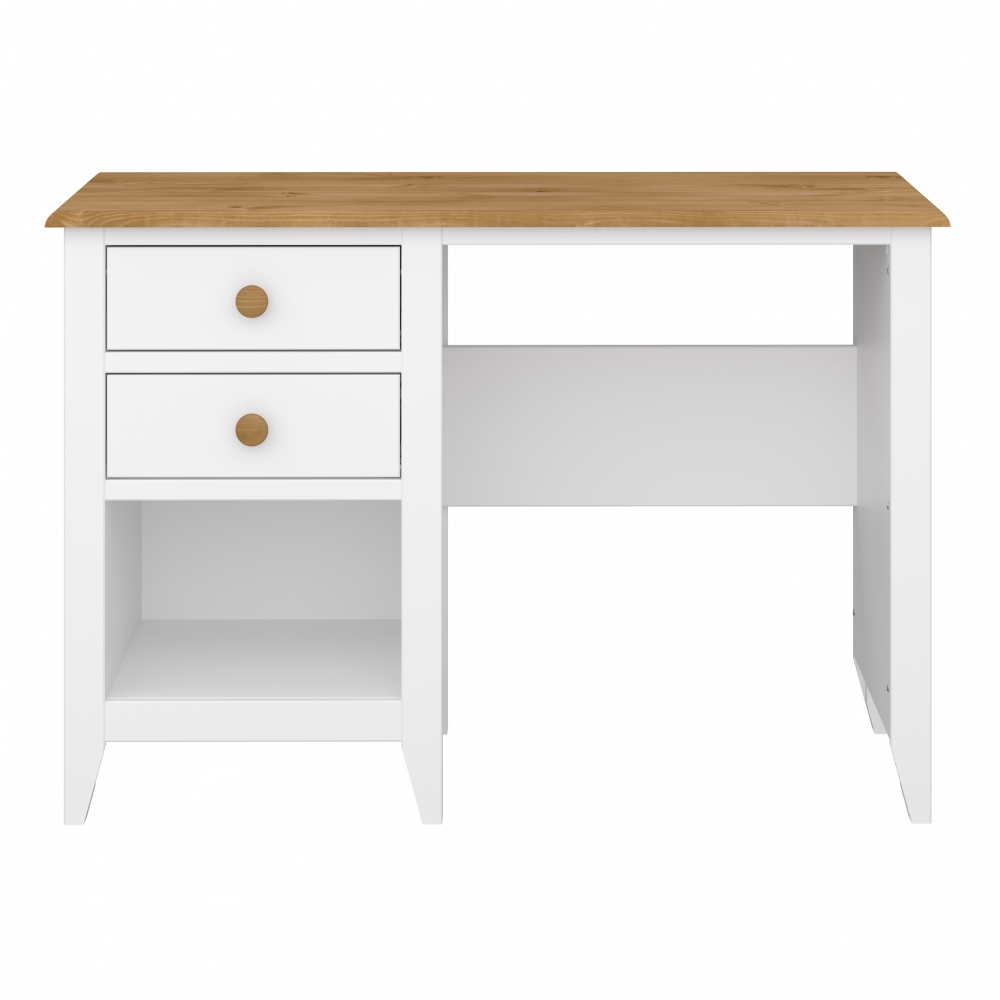 Pracovní stůl Hellen, 110 cm, bílá