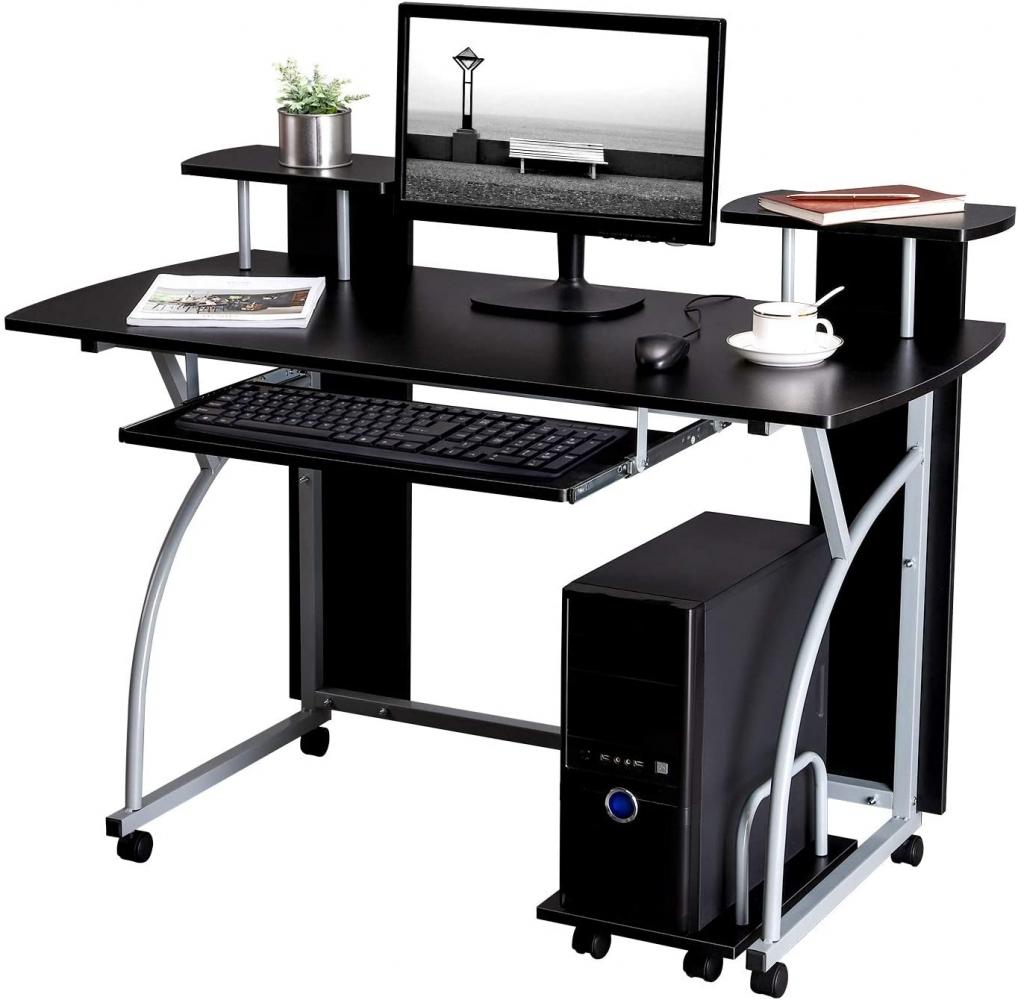 Pracovní stůl Lenny, 120 cm, černá