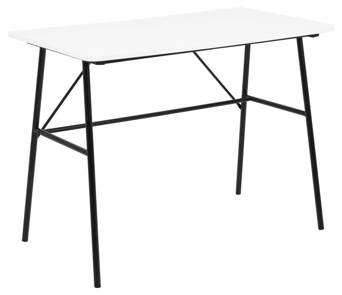 Pracovní stůl Pascal, 100 cm, MDF, bílá