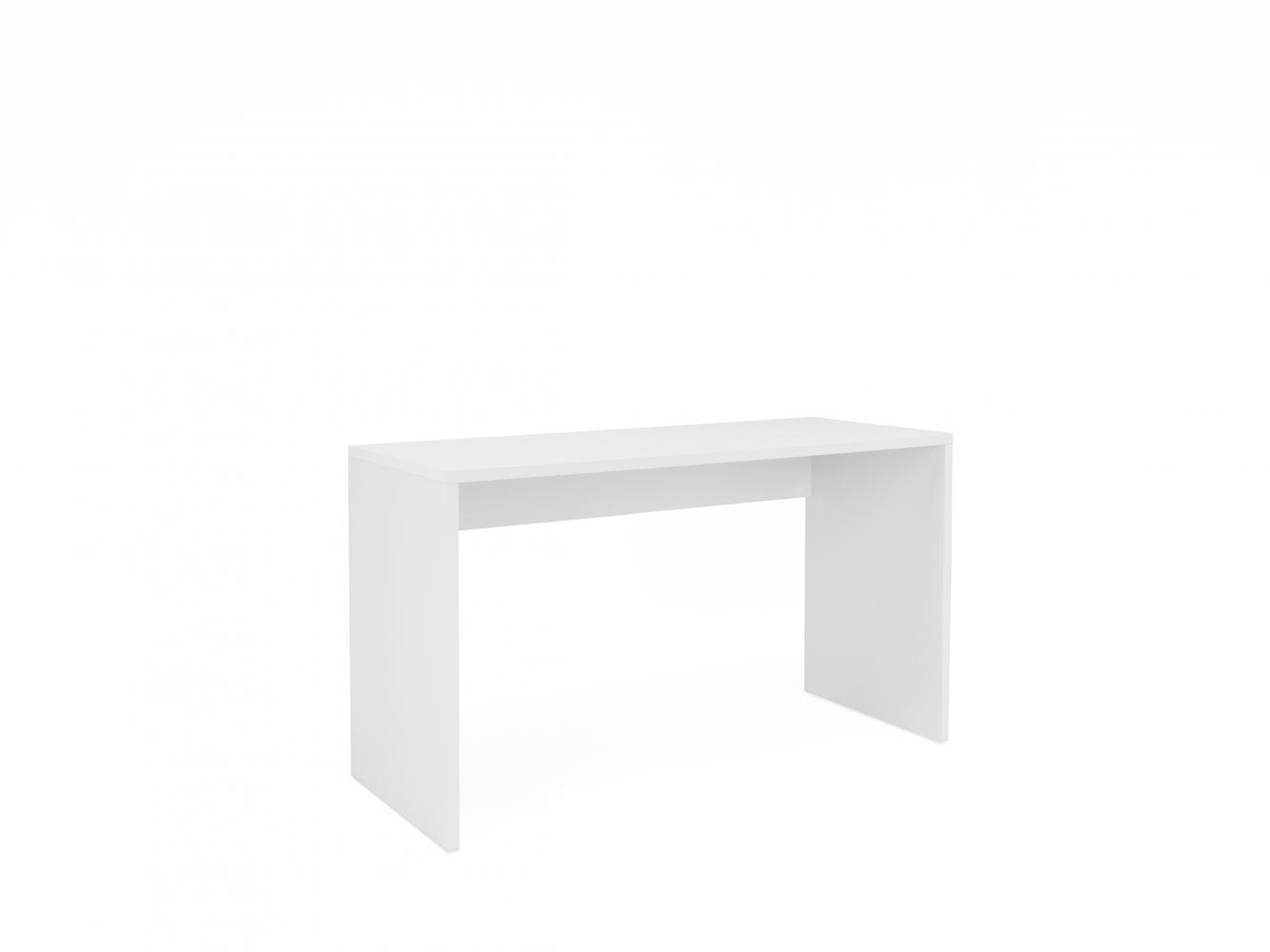 Pracovní stůl Ria, 130 cm, bílá