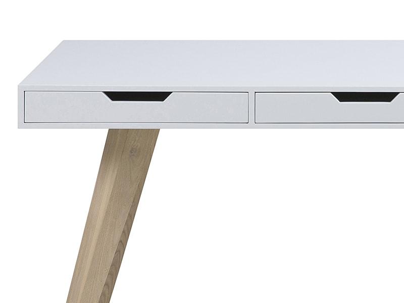 Pracovní stůl s 3 zásuvkami Edita, 140 cm