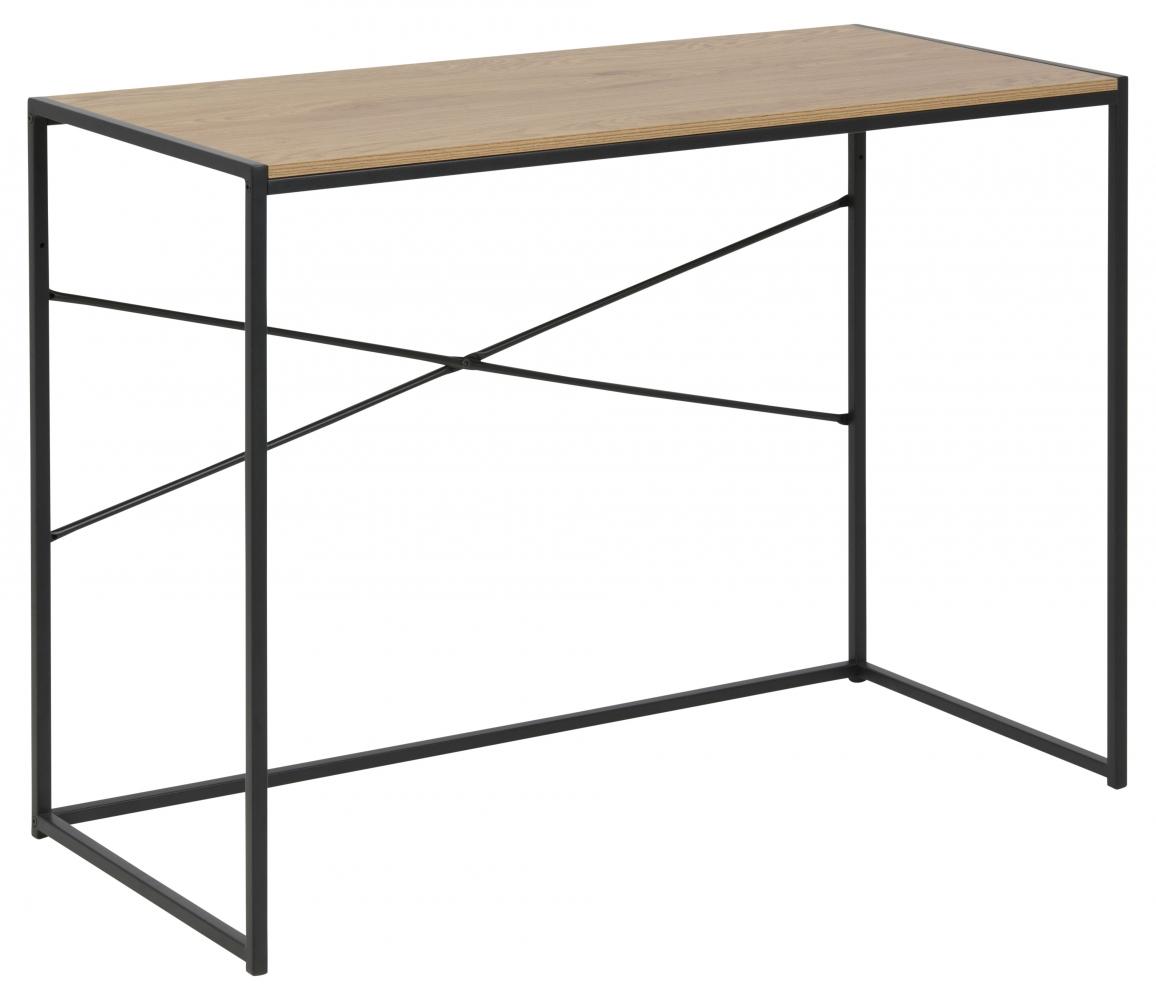 Pracovní stůl Seaford, 100 cm, MDF, přírodní
