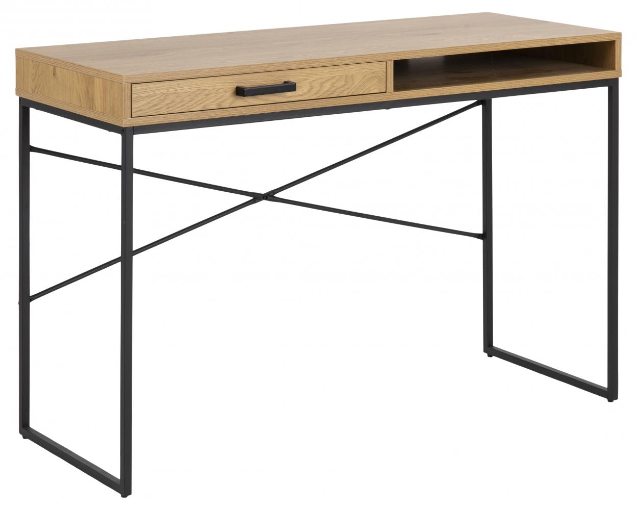 Pracovní stůl Seaford, 110 cm, MDF, přírodní