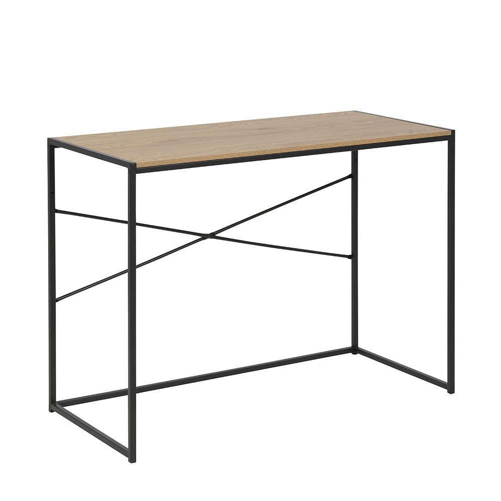 Pracovní stůl Seashell, 100 cm, Sonoma dub