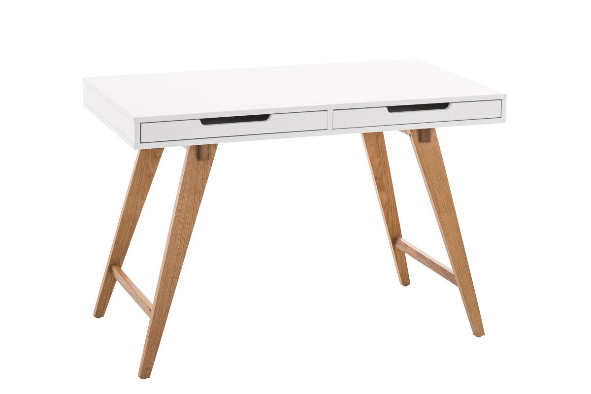 Pracovní stůl Serel, 140 cm, bílá
