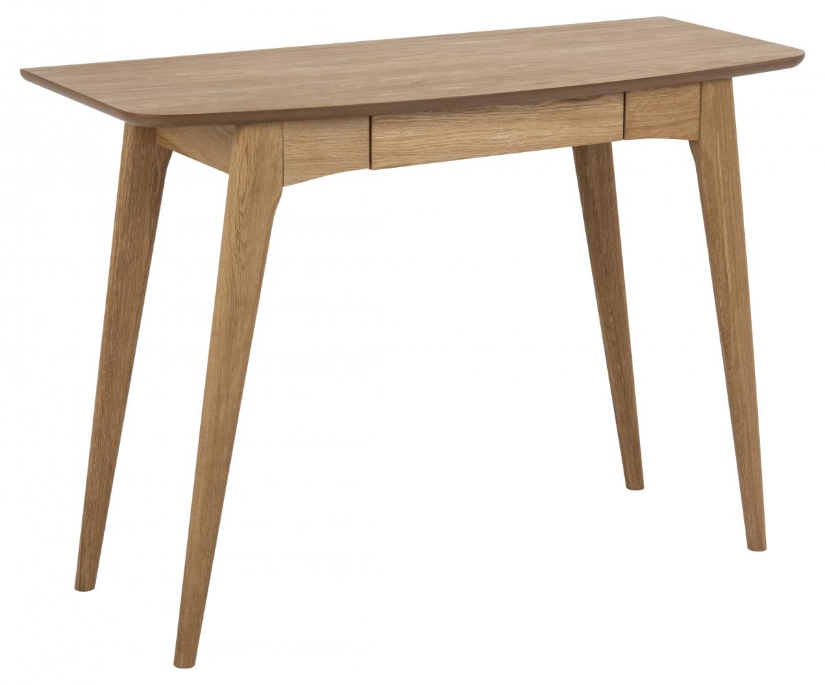 Pracovní stůl Woodstock, 105 cm, dřevo, dub