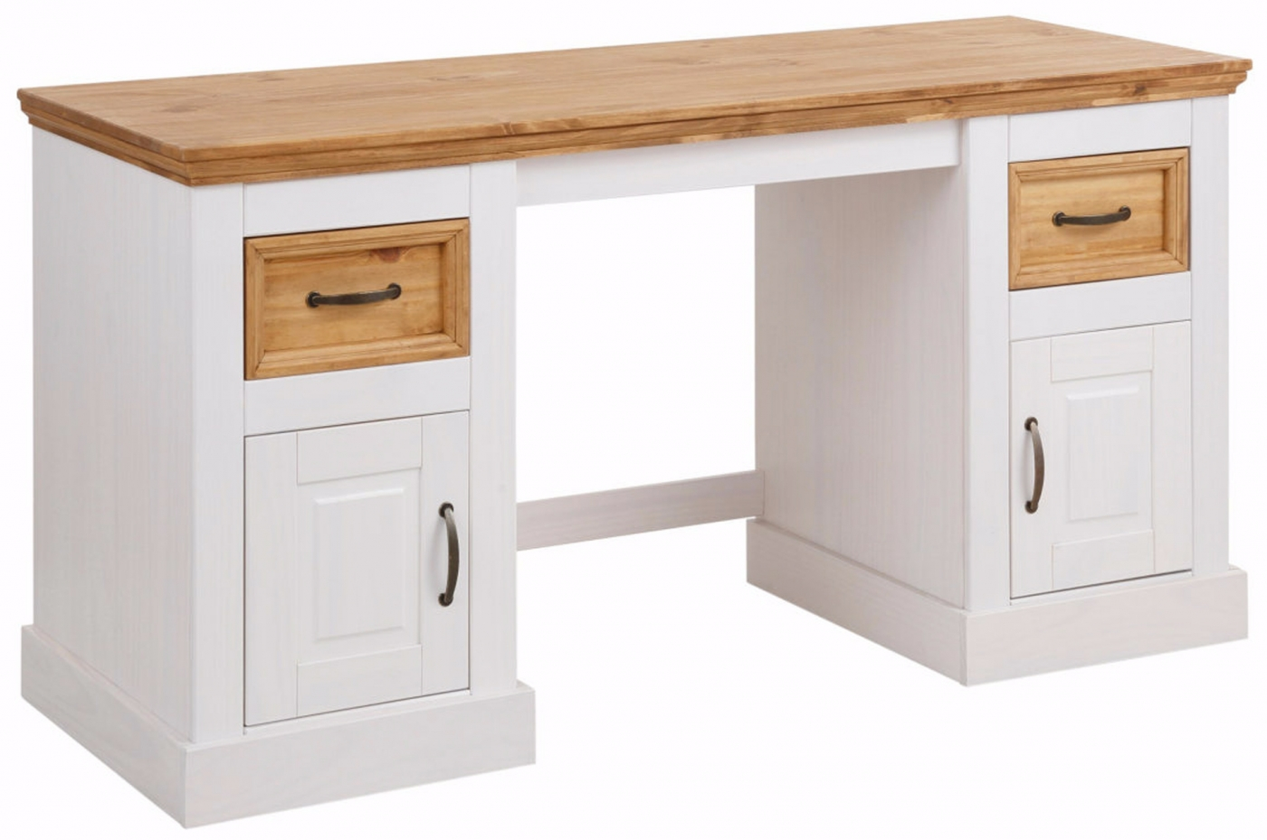 Pracovní stůl Yvet, 150 cm, bílá