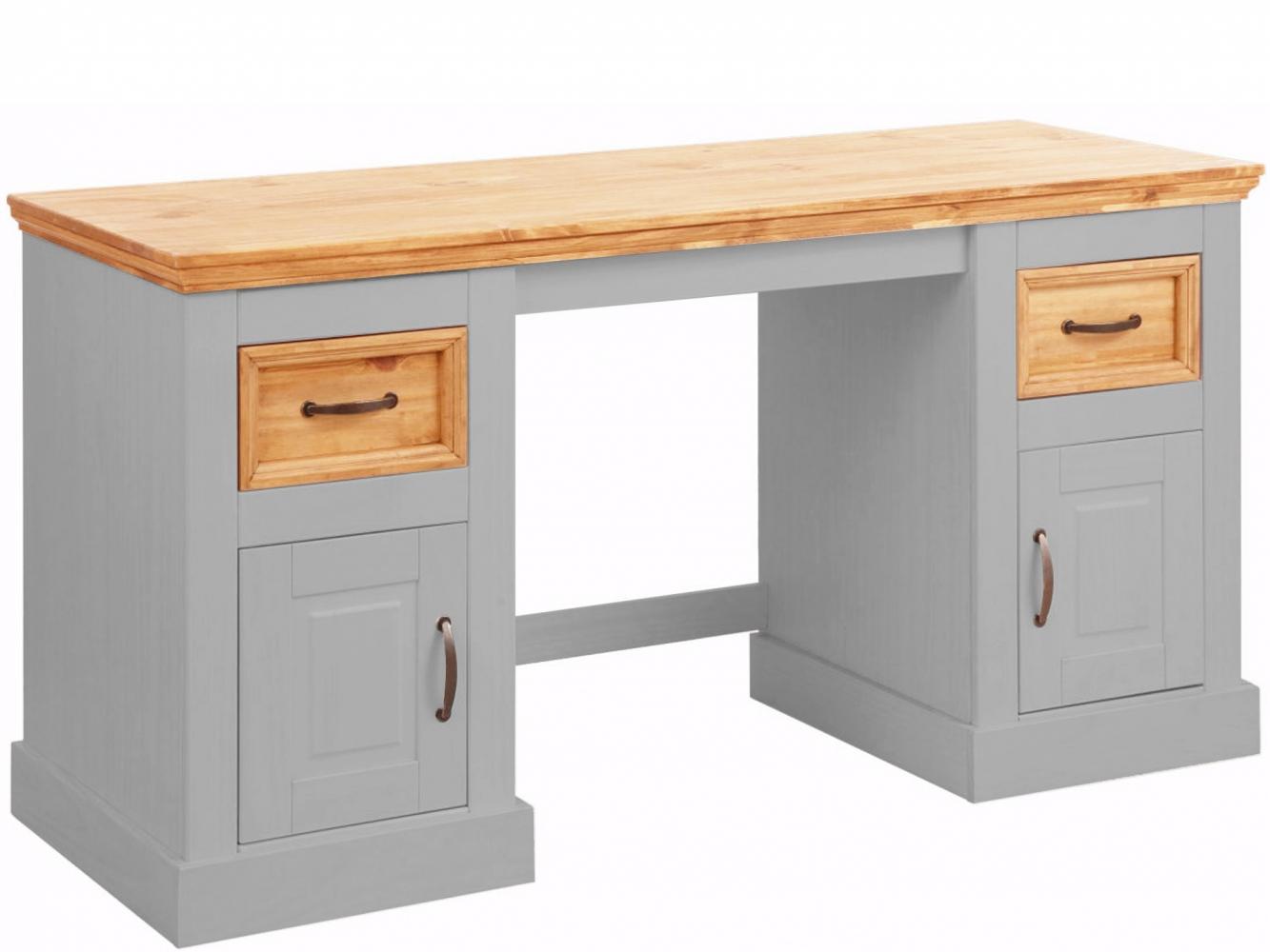 Pracovní stůl Yvet, 150 cm, šedá