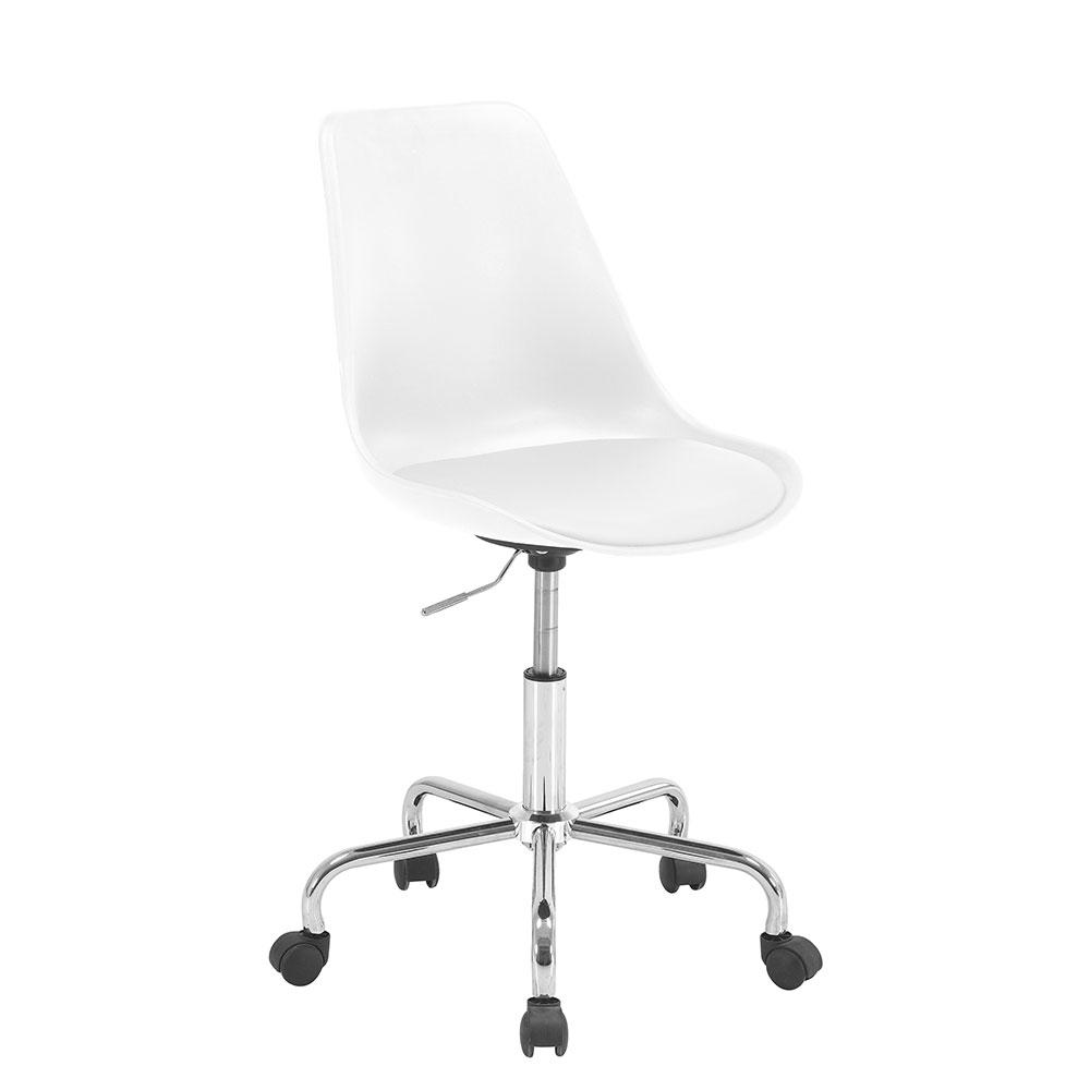 Pracovní židle Damian, bílá