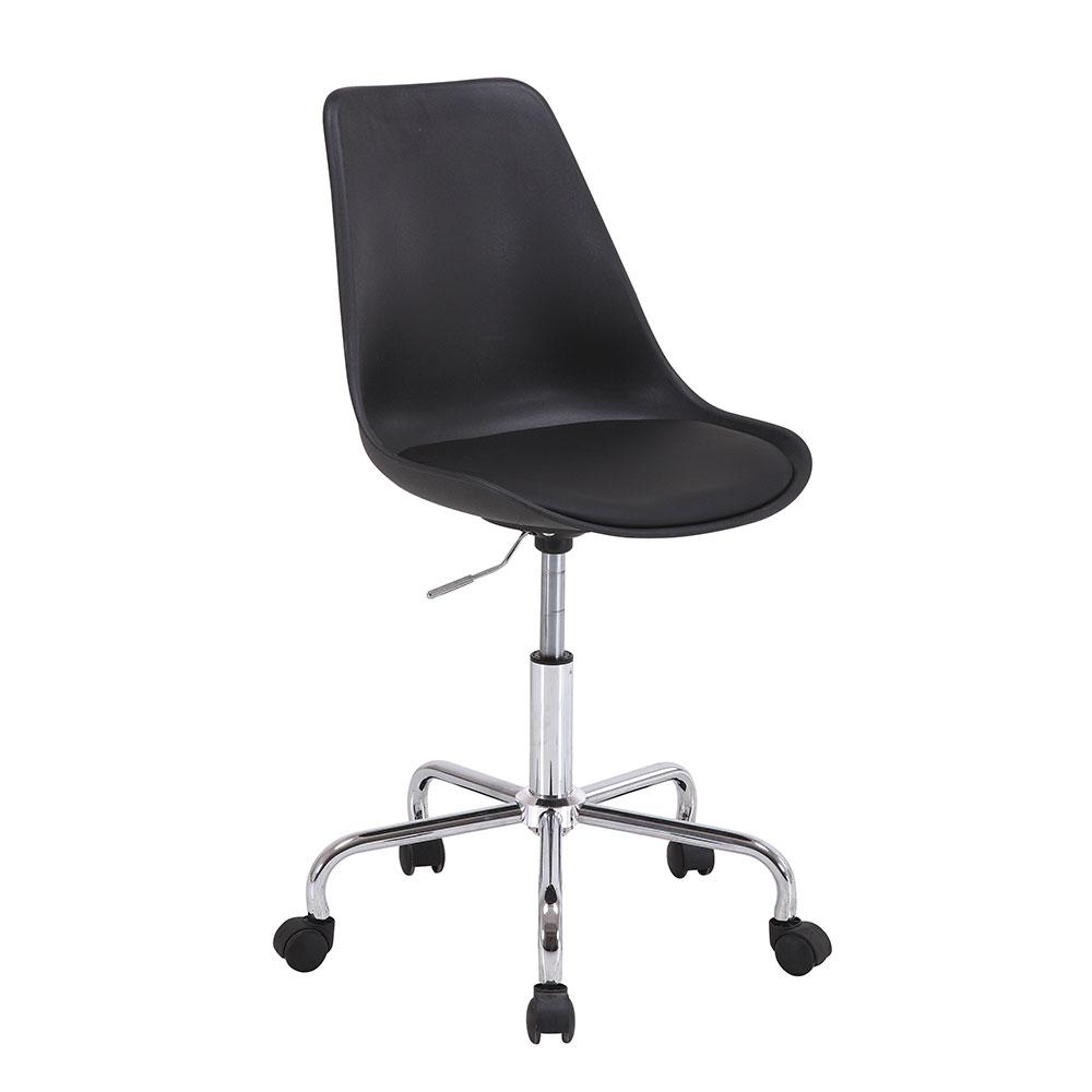 Pracovní židle Damian, černá