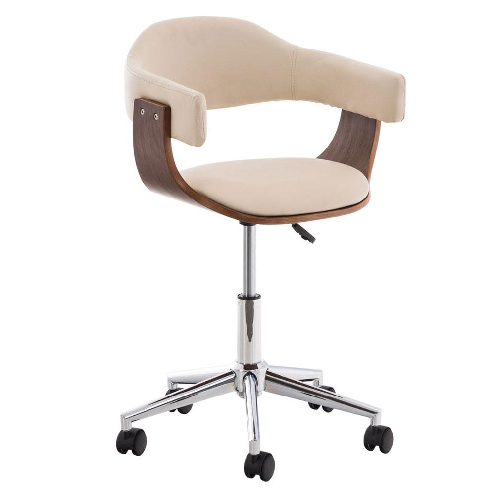 Pracovní židle Dancer, krémová