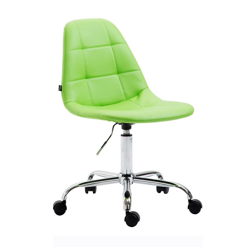 Pracovní židle Rima kůže zelená