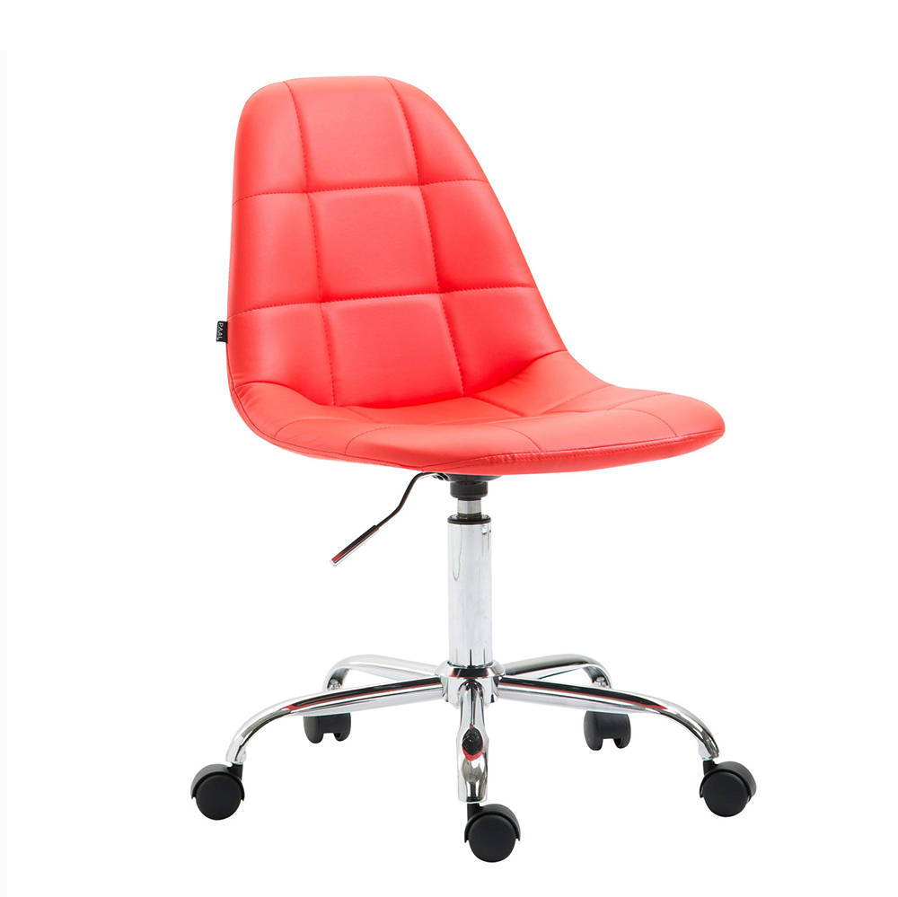 Pracovní židle Rima kůže červená