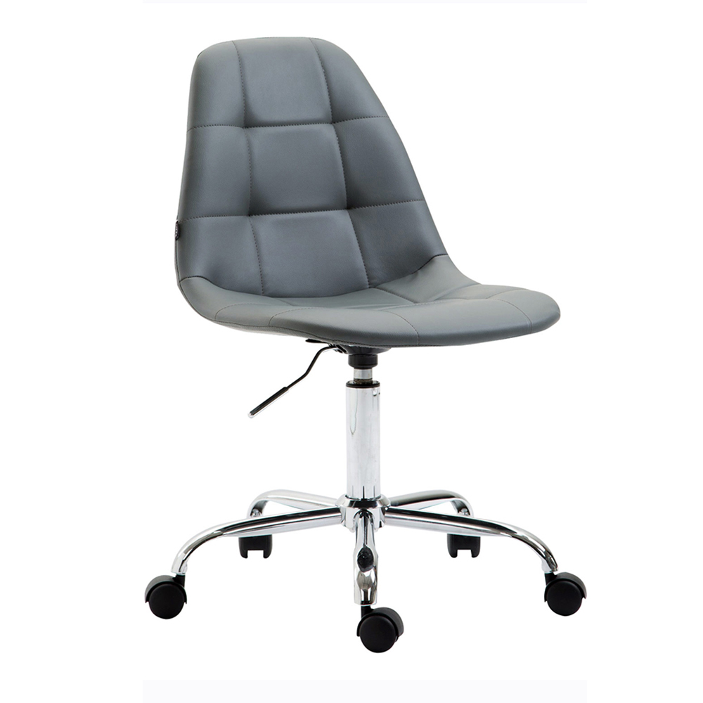 Pracovní židle Rima kůže krémová