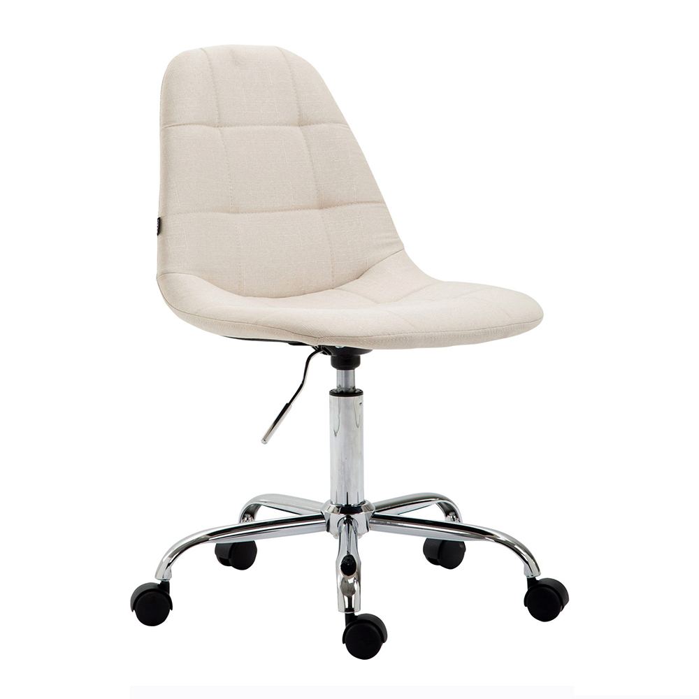 Pracovní židle Rima textil krémová