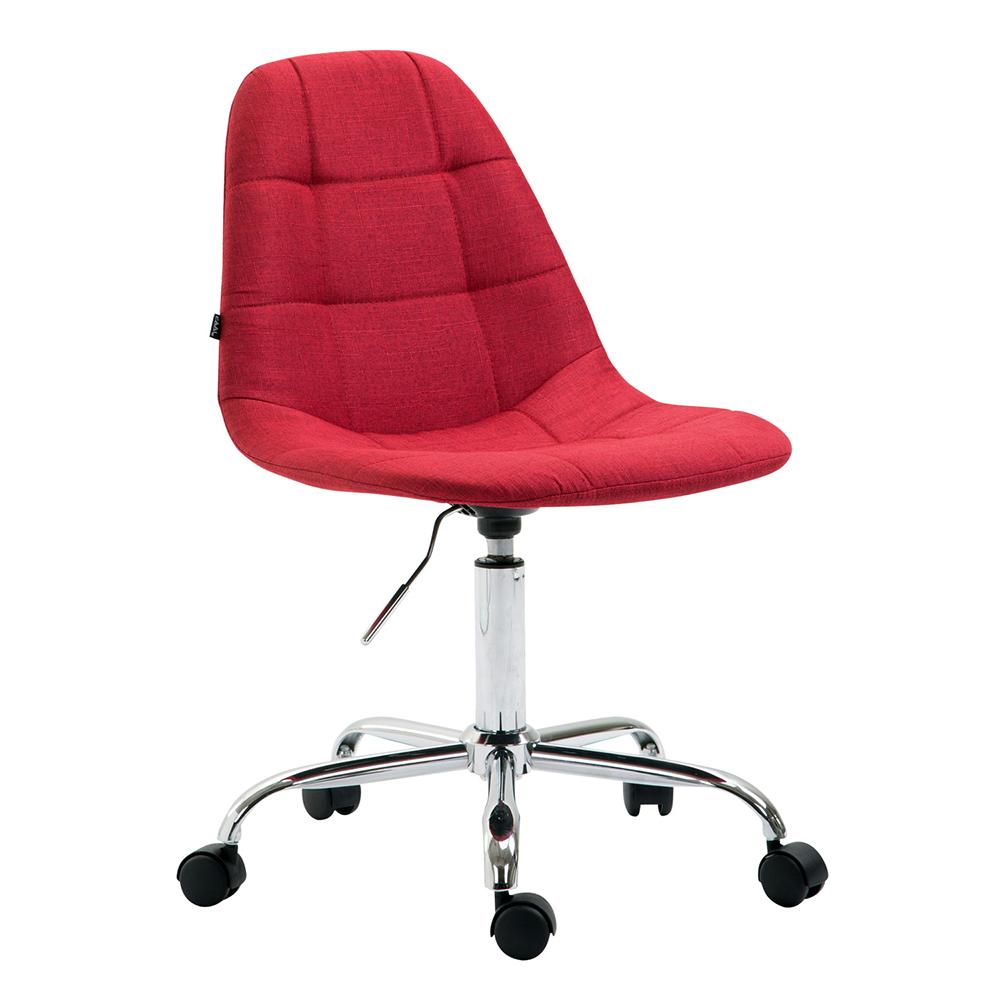 Pracovní židle Rima textil červená