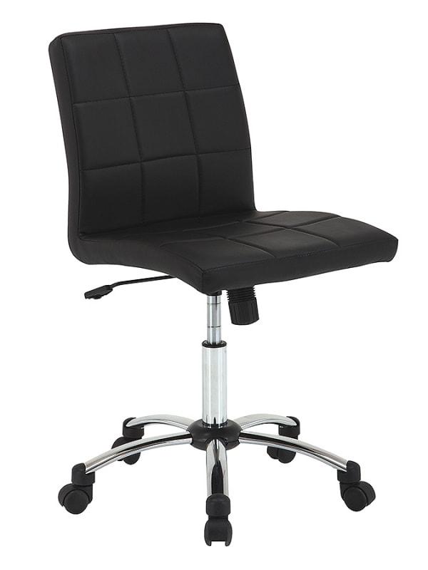 Pracovní židle Sandra, černá