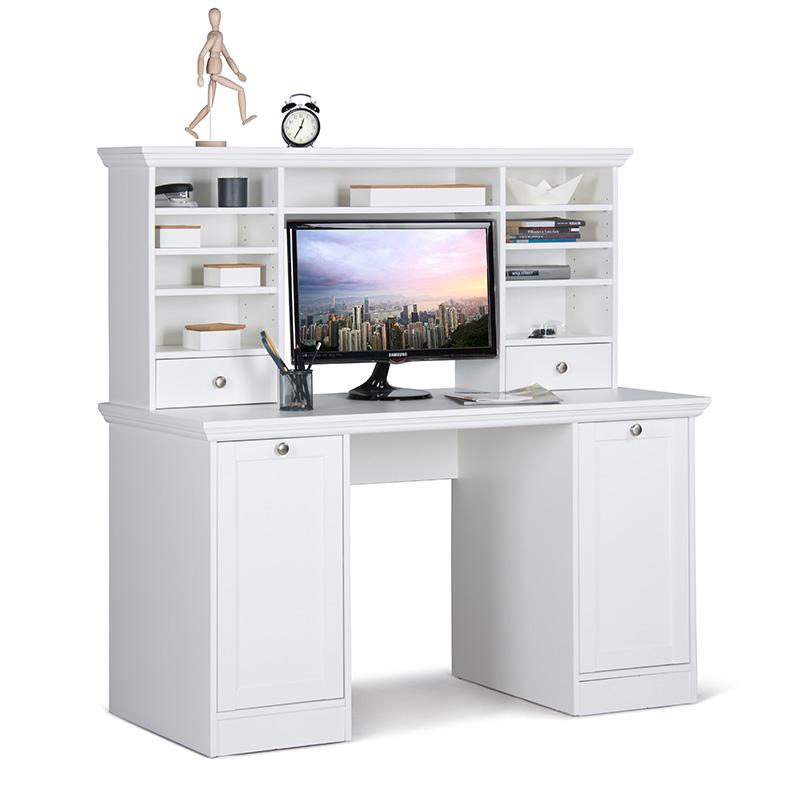 pracovn st l s nadstavbou country 136 cm design outlet. Black Bedroom Furniture Sets. Home Design Ideas