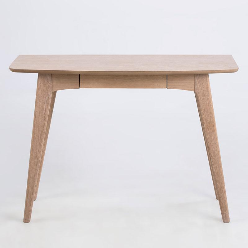 Pracovný stôl so zásuvkou Woody, 105 cm, dub