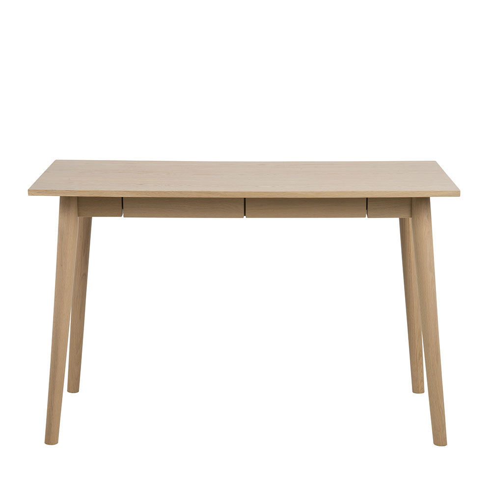Pracovný stôl so zásuvkami Maryt, 120 cm, dub