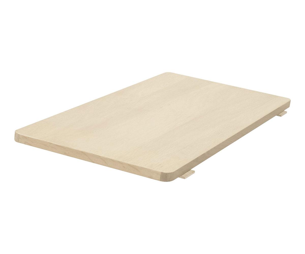 Predlžovacia doska k jedálenskému stolu Kerstin, 45 cm, dub