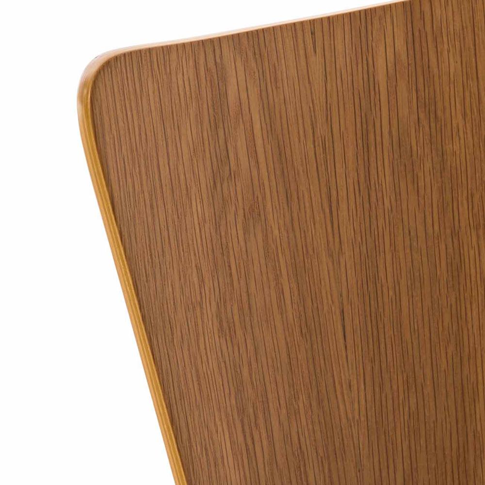 Překližková jídelní židle Jacob, dub/černá