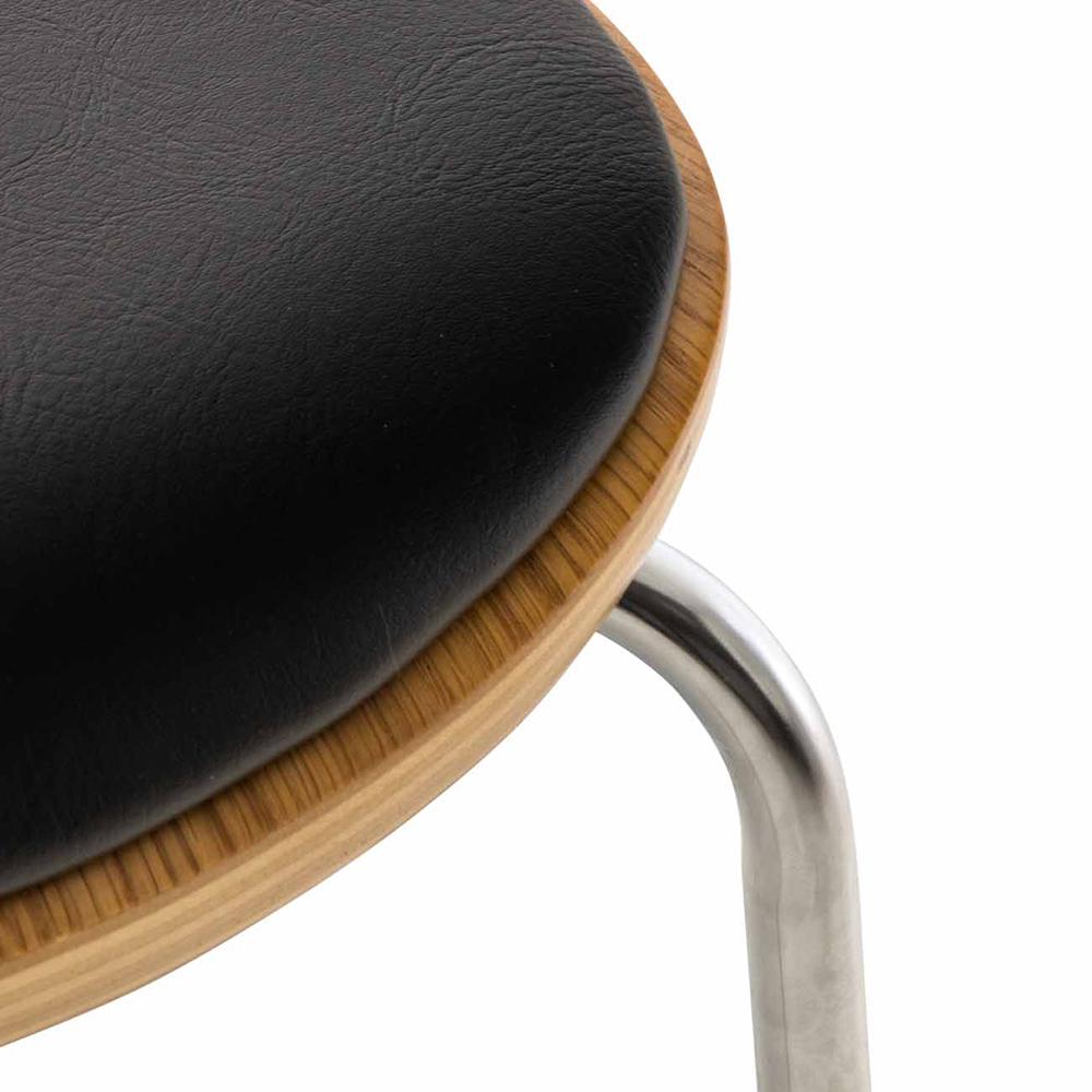 Překližková jídelní židle Story, dub/černá