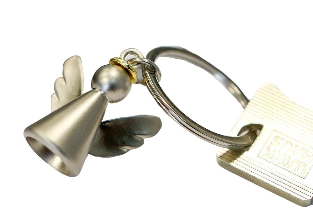 Přívěšek na klíče Anděl, 7 cm