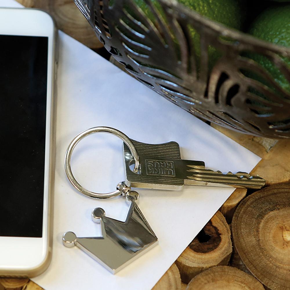 Přívěšek na klíče Korunka, 7 cm