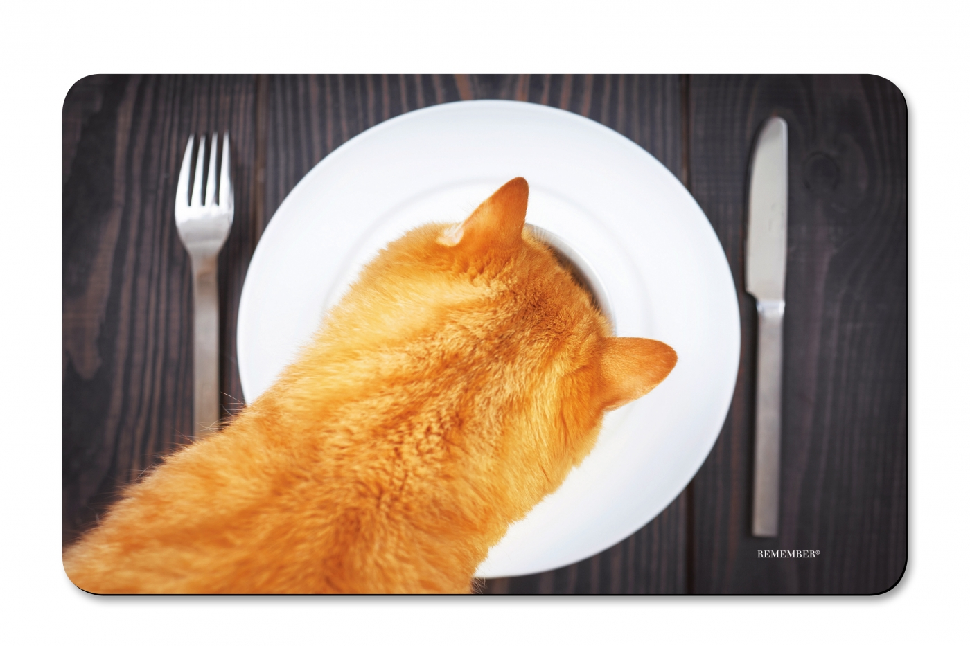 Prkénko umakartové Cat, 24x14 cm