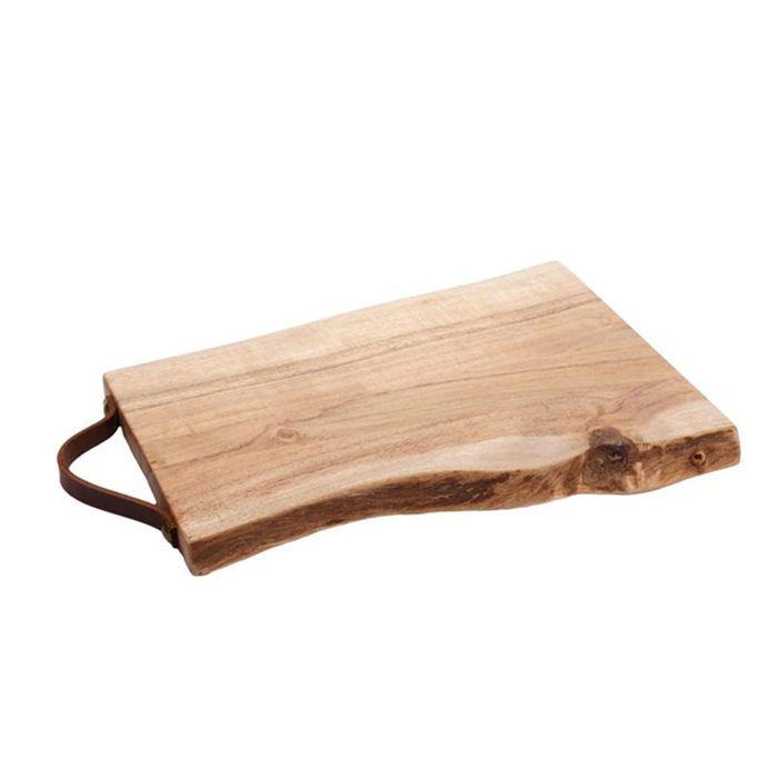 Prkénko z akátového dřeva Rustic, 27 cm
