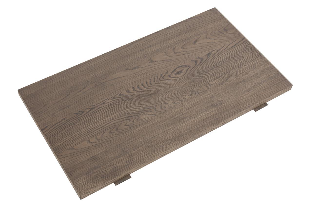 Prodlužovací deska k jídelnímu stolu Beata, 50 cm (SET 2 ks), mořený dub
