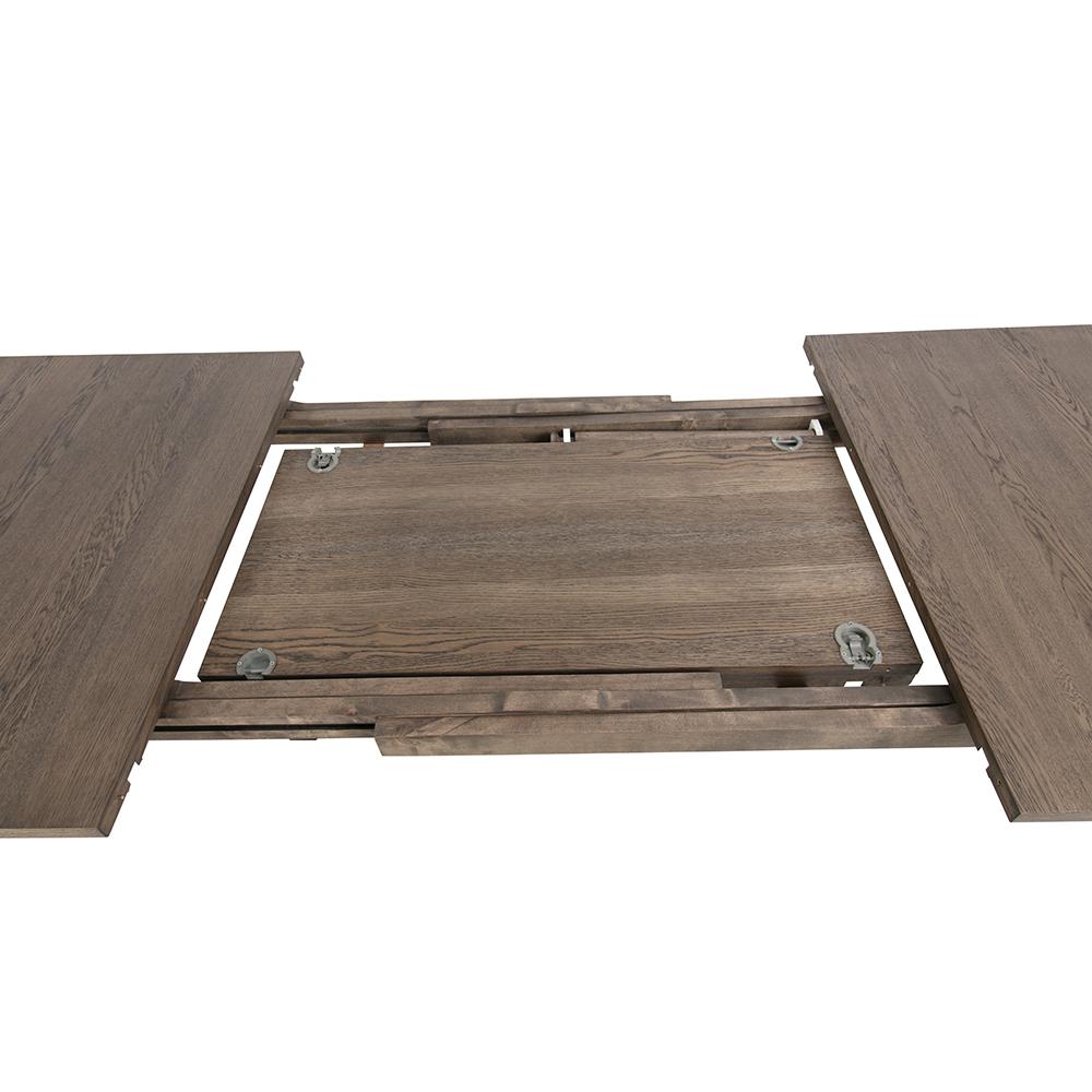 Prodlužovací deska k jídelnímu stolu Linea, 50 cm (SET 2 ks), mořený dub