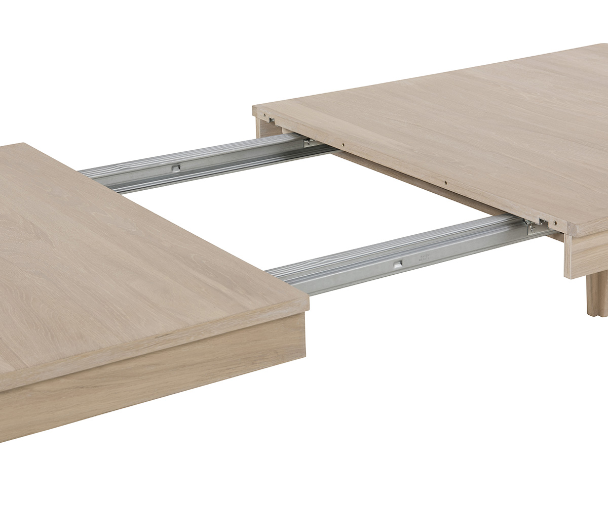 Prodlužovací deska k jídelnímu stolu Norwich, 50 cm (SET 2 KS)