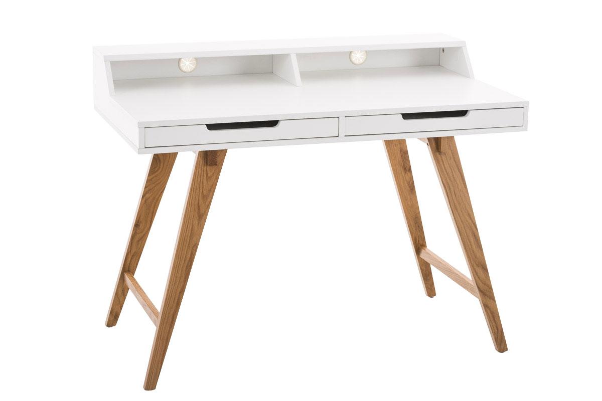 Psací stůl Eaton, 110 cm, bílá