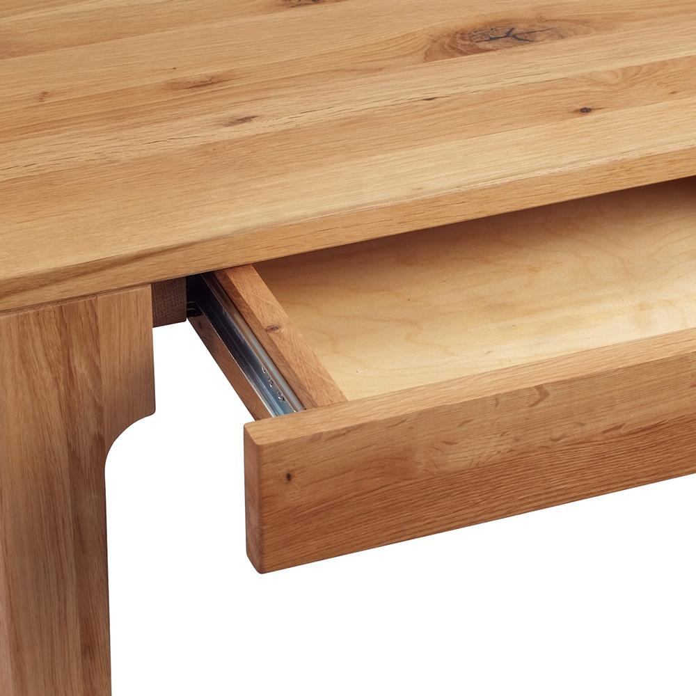 Psací stůl se zásuvkami Theodor, 110 cm, divoký dub