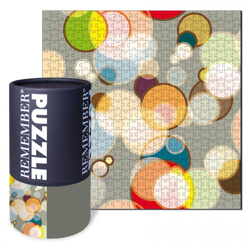 Puzzle Bubble 500 dílků, 50x50 cm