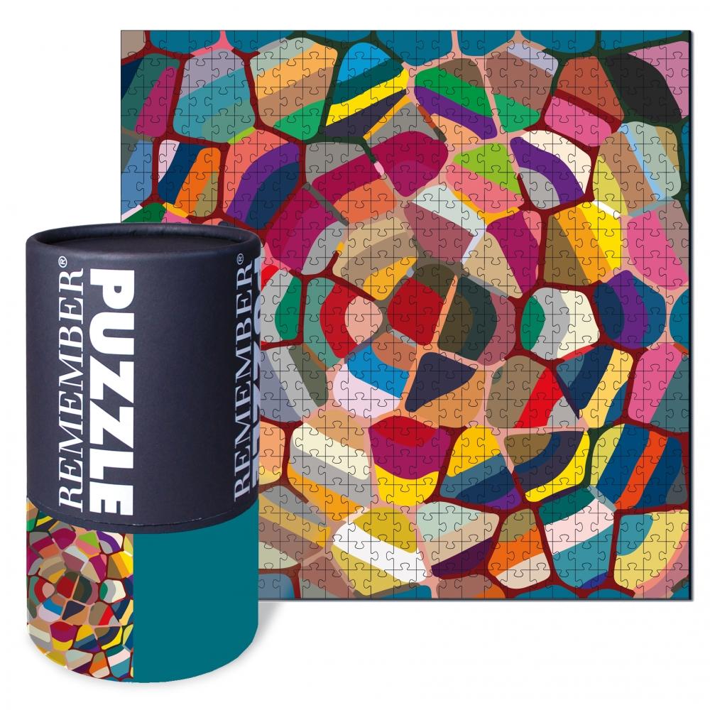 Puzzle Candy 500 dílků, 50x50 cm