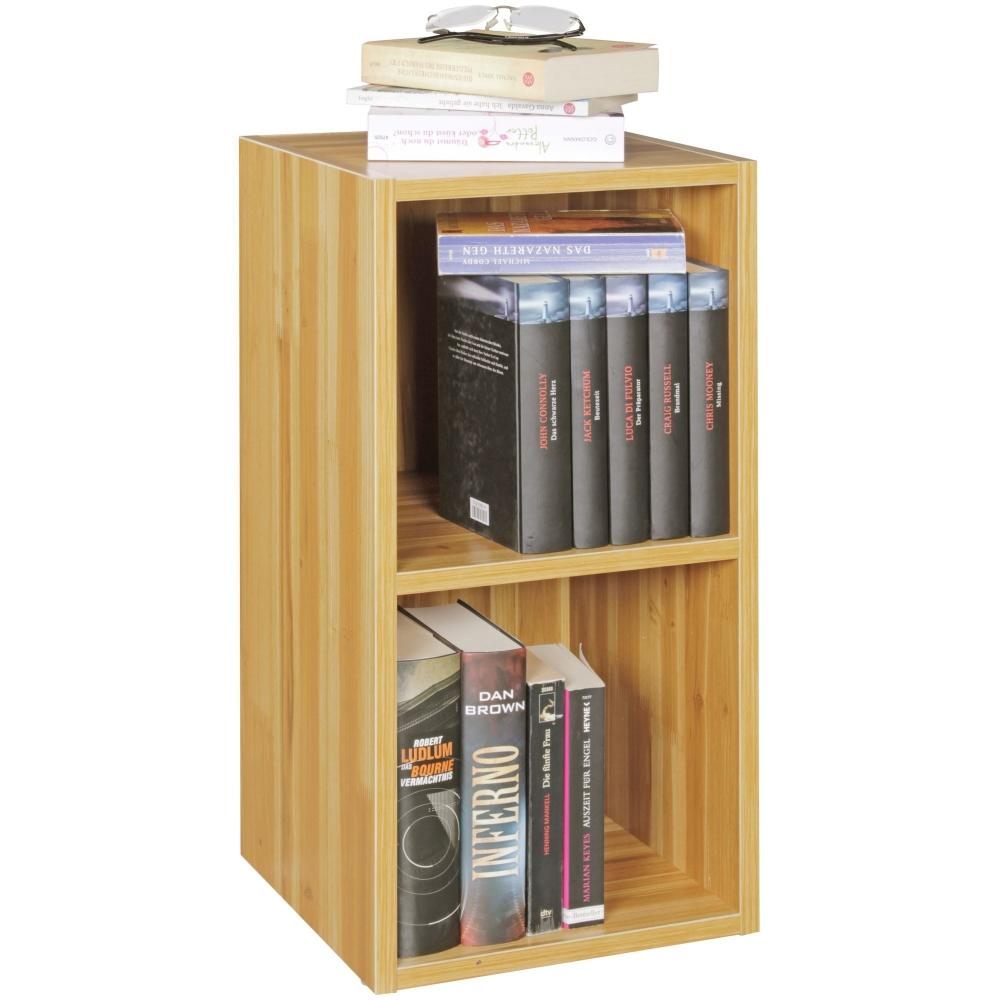 Regál / knihovna Aku, 60 cm, buk