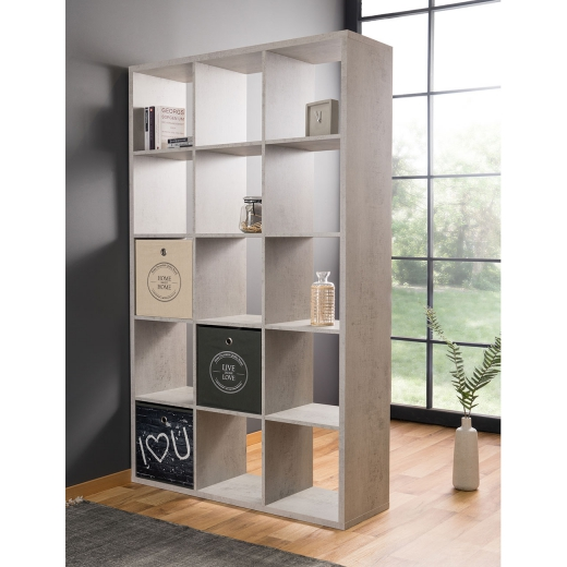 reg l s 15 policemi xaver 176 cm beton design outlet. Black Bedroom Furniture Sets. Home Design Ideas