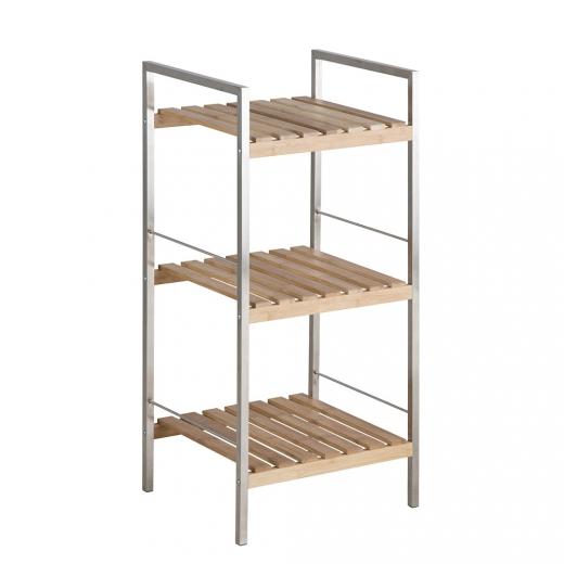 reg l s bambusov mi policami nada 75 cm policov reg ly. Black Bedroom Furniture Sets. Home Design Ideas