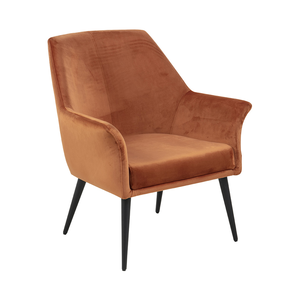 Relaxační křeslo Solitera, oranžová