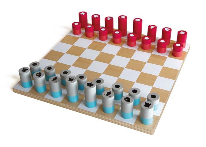 Šachy dřevěné Remember