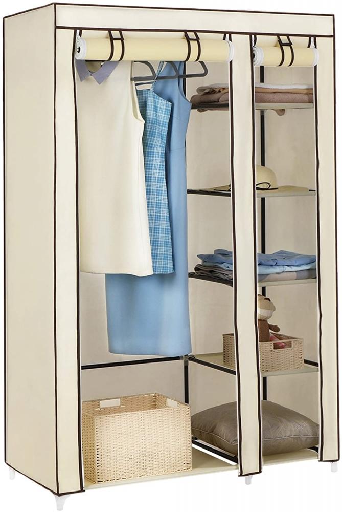 Šatní skřín Nino, 175 cm, krémová
